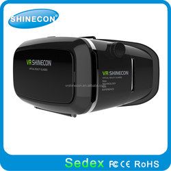 your home cinema, lazy glasses 3d virtual reality glasses plastic recyclable cardboard