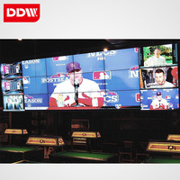 42 inch LCD video wall, indoor advertising tv