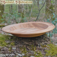 Ash Wooden sushi Plate