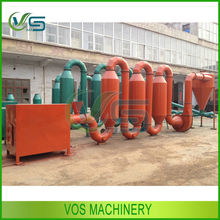 top design sawdust dryer machine/wood shaving dryer for pallet production line