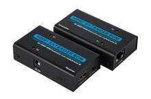 Factory OEM YT-TXRX60IR Single UTP 60M HDMI Extender with IR support 3D 1080P