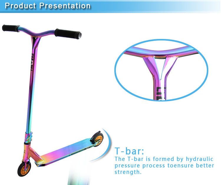 Neo Chrome Pro Stunt Scooter With Y BarExtreme