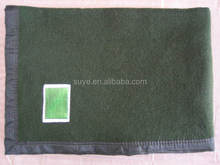 Manufacturers selling military blankets Wool texture soft, comfortable green environmental protection