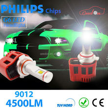Qeedon factory direct moto super bright led headlight 24voltage bulbs h3 kit