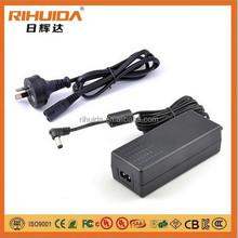 CE SAA PSE KC UL 12v 5a 60w desktop switching power supply
