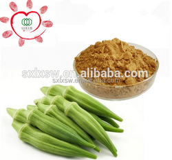 Herb Medicine Natural Dried Okra Powder, Okra extract 5:1 10:1 20:1