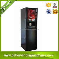 Best Quality Coin Operated Coffee Vending Machine/Coffee Dispenser Supply Instant Powder Drinks