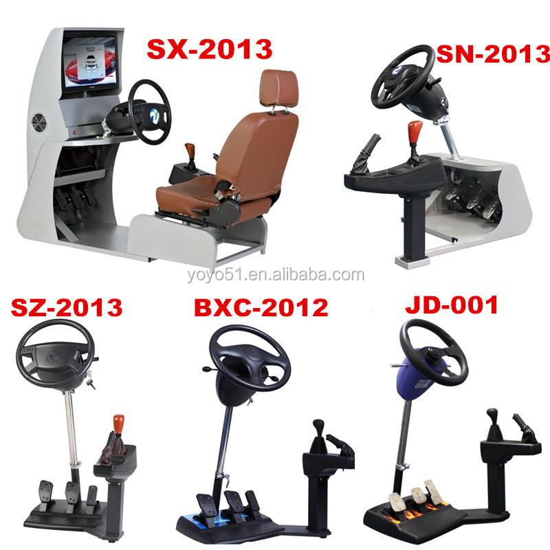 3D Car Driving Simulator for Driving School