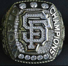 World national 2015 San Francisco Giant baseball championship ring for sport player and fans