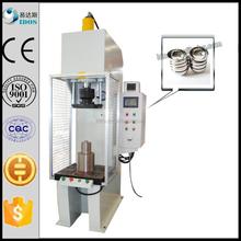 Press machine for aluminum bowls, aluminum bowl press machine, c frame hydraulic press machine for aluminum bowl with CNC system