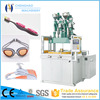 Large size toothbrush two-color vertical insert molding machine