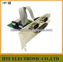 HTF customized PCI Express 2 Serial And 1 Parallel Port Card RS232 Printer Port PCIe network adapter