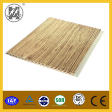 2015 Fashionable wooden design cheapest PVC wall panel PVC ceiling hot selling