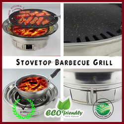 No smoking Korean electric BBQ grills with hot pot pan,korean bbq grill table