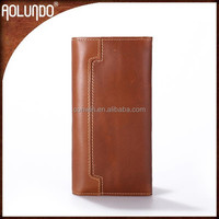 New Arrival Crazy Horse Genuine Leather Wallet