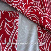 100% polyester micro fleece bonded fabric