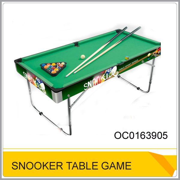 nuevo plegable mesa de billar snooker mesa para la venta con aleación de aluminio de pie oc0163905