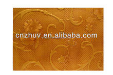 3mm thickness 3D Texture MDF board for wall decor with factory price