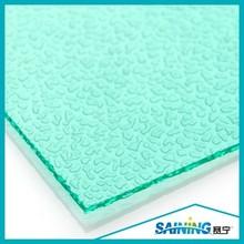 1.5mm coloring embossed polycarbonate sheet makrolon baye
