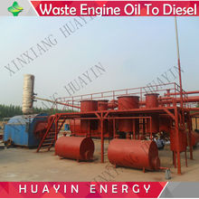 Engine Oil Recycling Plant And Pyrolysis Oil Into Diesel
