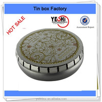 2015 New promotion cosmetics packing tin boxes for ladies