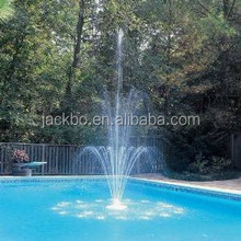 Decorative outdoor water fountains float 3 tier use with hose