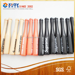 Professional wood Baseball Bats Black