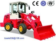 small machanical shovel loader four wheel drive 800kg load