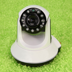 wireless ip camera support email alert and motion detection with 720P HD camera