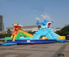 very popular inflatable bouncer with slide good price