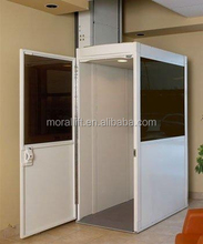 home vertical outdoor wheelchair lift for old man