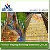 colorful pigment powder concrete floor tiles for glass mosaic