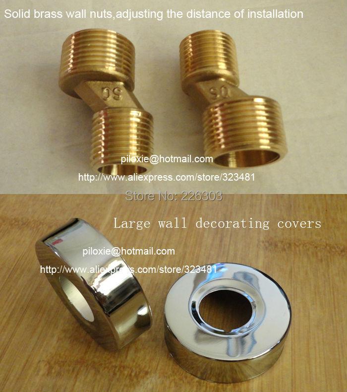 faucet wall nuts