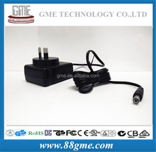 2015 new style 7V 1600mA Power Adapter with SAA mark wtih efficiency level 6