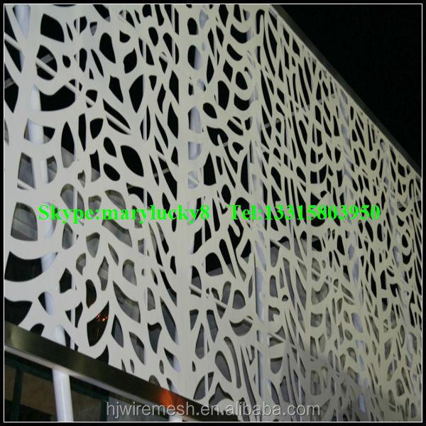 Aluminium composite perfor panneau perfor panneaux m talliques pour construction fa ade - Chapas metalicas decorativas ...