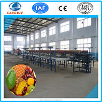 2015 Newest computer controlled automatic vegetable fruit color waxing sorting washing machine for sale