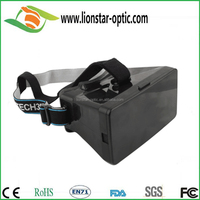 customized Christmas gift google cardboard vr 3D glasses ,best promotional gift 2015