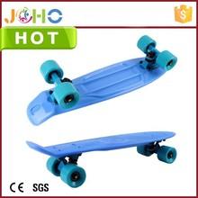 OEM Colorful Plastic Street Surfing Adult Custom China 2015 fish longboard blue
