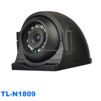 IR Truck Camera with Water-proof metal housing for Side View(Mirror image)
