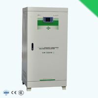 contactless three phase AC electric voltage regulator