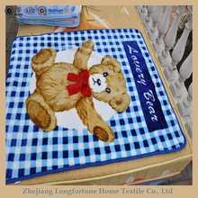 2015 super soft high quality 100%polyester hot sales best selling baby toys rachel blanket