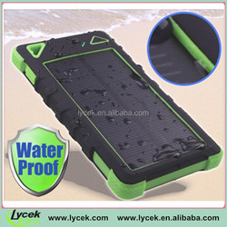 Solar Panel Charger 8000mAh Dual USB Port Portable Charger Backup Power Pack from China