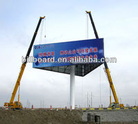 Widly used highway advertising rolling advertising board