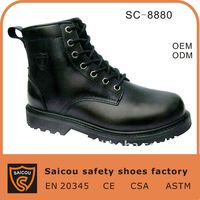 leather army boots and safety shoes factory (SC-8880)