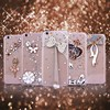 Luxury Crystal strass Stones Diamond hard pc case for iphone 6