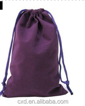 hot selling printed velvet fabric bags/tote bags