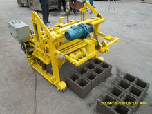 Best selling QT40-3A used brick making machine for sale