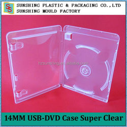 Factory direct supply professional plastic 14MM USB Case according to customer's requirements