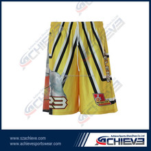 wholesale sublimation basketball jersey /custom basketball uniform design / basketball shorts
