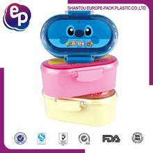 bpa free material plastic container sets for lunch and snacks children plastic lunch box with lock